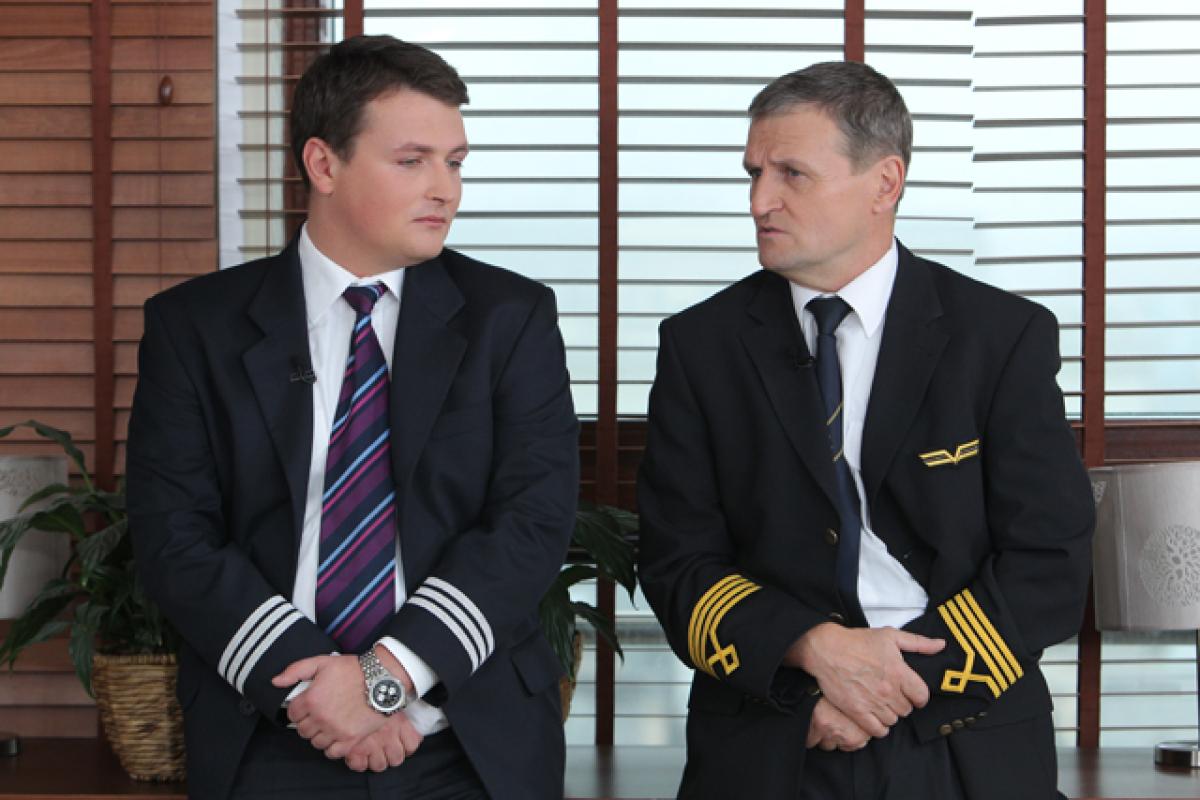 kpt.Tadeusz Wrona z synem